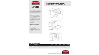 Learn more about the specifications of Slim Jim® Clips and Caddy Kits
