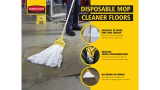 Learn more about the features and benefits of the Disposable Mop and how it can help in the Manufacturing and Automotive industries.