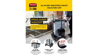 All-In-One Sanitation & Waste Collection Cart Flyer