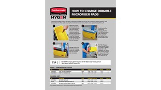 How to Charge HYGEN™ Durable Microfiber Pads