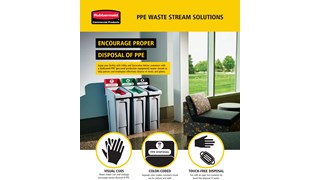 Learn how to Equip your facility with Utility and Decorative Refuse containers that have a dedicated PPE waste stream