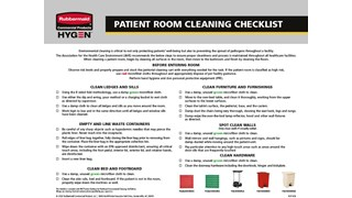 Environmental cleaning is critical to not only protecting patients' well-being but also to preventing the spread of pathogens throughout a facility.
