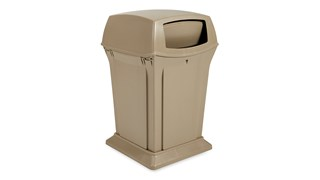 The Rubbermaid Commercial Ranger® Classic Waste Bin features reliable durability, modern styling, and easy-to-service design.