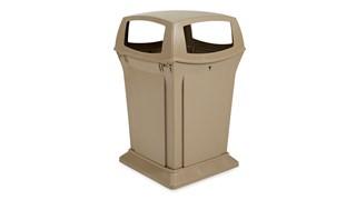 Le collecteur Rubbermaid Ranger® est une poubelle classique résistante, moderne et facile d'entretien.