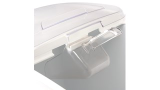 The Rubbermaid Commercial Bouncer® Ice Scoop is a scoop designed for use in the industrial, medical, and commercial industries.