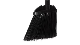 The Rubbermaid Commercial Executive Lobby Broom with Vinyl Handle is great for sweeping and cleaning in restaurants, Shopping Centres, Reception Areas, and more.