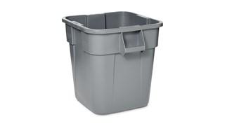 Hohes Fassungsvermögen für Lagerzwecke oder Müllsammlung.