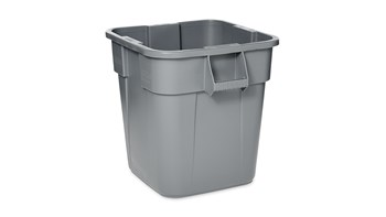 Collecteur BRUTE® carré gris de 106 l
