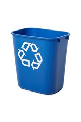 Wastebasket Recycling Small 12L Blue