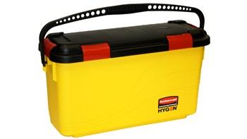 HYGEN™ Microfibre Charging Bucket, Yellow