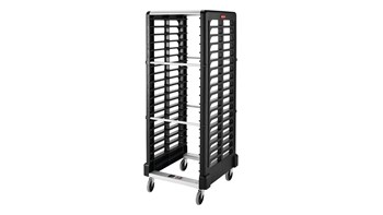The Rubbermaid Commercial Racks and Carts increase efficiency by maximising space, transportation, and storage