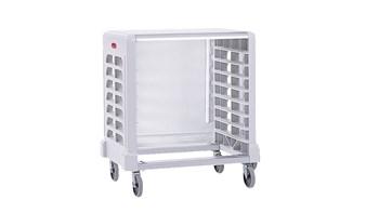 Les échelles et chariots Rubbermaid améliorent la productivité en optimisant l'espace, le transport et le stockage.