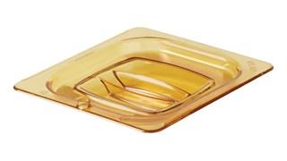 Le couvercle de bac pour aliments chauds avec trou et poignée Rubbermaid est incassable, inaltérable et indéformable. Il sert à fermer tous les bacs pour aliments chauds au format GN 1/6, il est pourvu d'un trou de suspension pour le ranger ou le faire sécher plus facilement et il est plus silencieux que le métal.