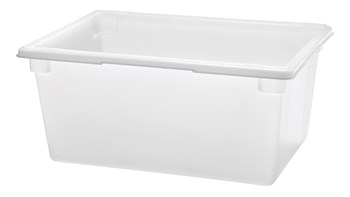 The Rubbermaid Commercial Food and Tote Box is a convenient way to maximize storage space while reducing food spoilage costs.