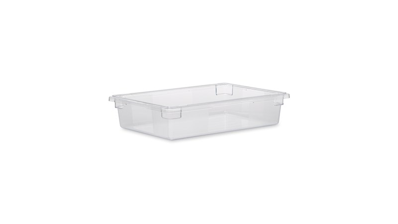 The Rubbermaid Commercial Food Storage Tote Box is a durable, versatile food storage box. These bulk food storage containers are NSF-Certified.