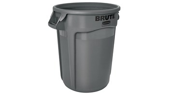 BRUTE® Vented Waste Container - 121L, Grey