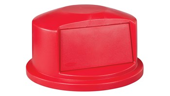 BRUTE® 121 l Dome Top Lid Red