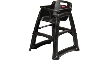 Microban Sturdy Chair™ High Chair without wheels