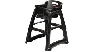 Chaise haute Sturdy Chair™ Microban sans roues