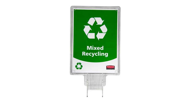 Recyclingschilder