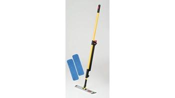 Das einseitige HYGEN™ PULSE™ Mopp-Set reinigt mehr Fläche in weniger Zeit. Die branchenweit beste Mikrofaser, der integrierte Reinigungsbehälter und die benutzergesteuerte Reinigungsmittelabgabe sorgen für eine schnellere, einfachere und effektivere Reinigung von Böden.