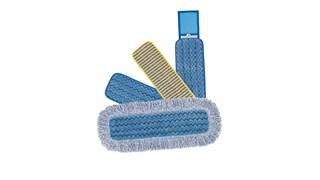 Der HYGEN™ Mikrofaser-Nasswischbezug von Rubbermaid Commercial ist aus hochwertiger, gespaltener Nylon-/Polyester-Mischmikrofaser, die beim Nasswischen optimale Ergebnisse liefert.
