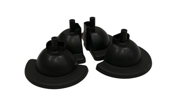Feet (set of 4 feet) for replacement