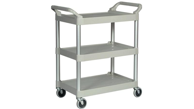 Ce produit Rubbermaid Xtra est un chariot utilitaire résistant et utile à plusieurs activités.