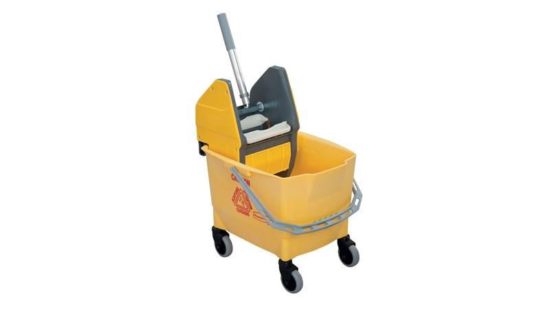 Combo Bravo (25 l Bucket + Wringer ) Yellow