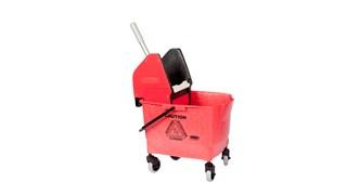 Combo Bravo (25 l Bucket + Wringer ) Red