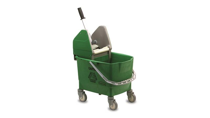 Combo Bravo (25 l Bucket + Wringer ) Green