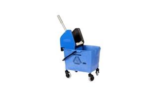 Combo Bravo (25 l-emmer + wringer) blauw
