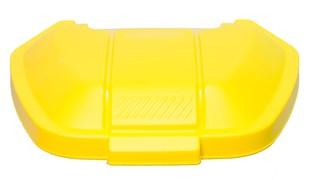 mobiler Rollcontainer, Deckel, gelb