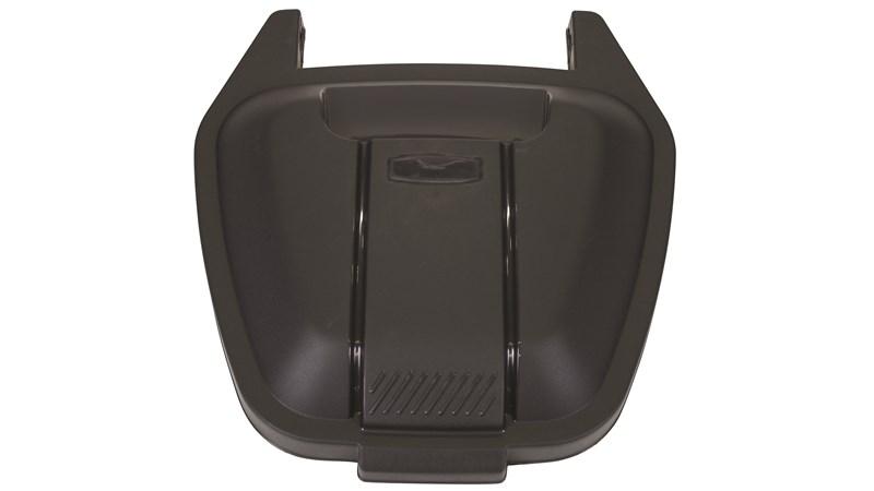 mobiler Rollcontainer, Deckel, schwarz
