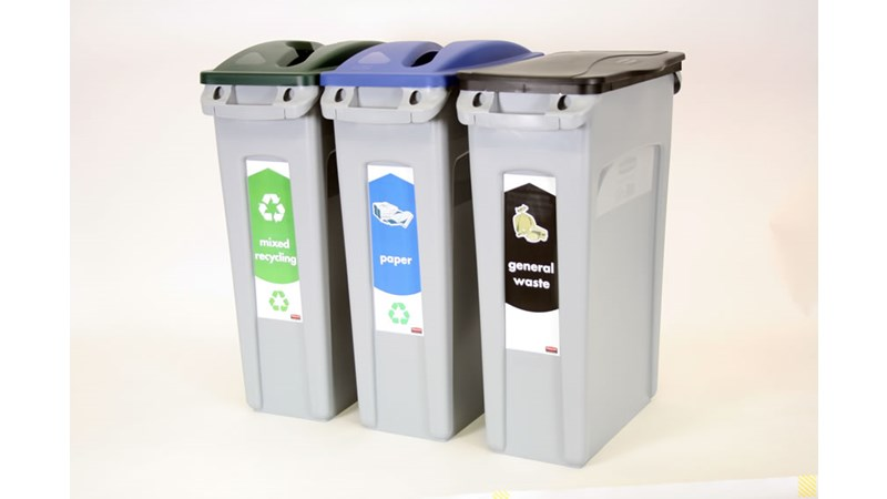 The New Slim Jim Recycling Starter Pack get you started with three stream recycling