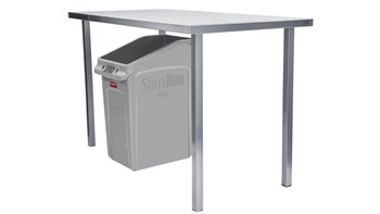 Slim Jim® 87L Under-Counter Container Grey