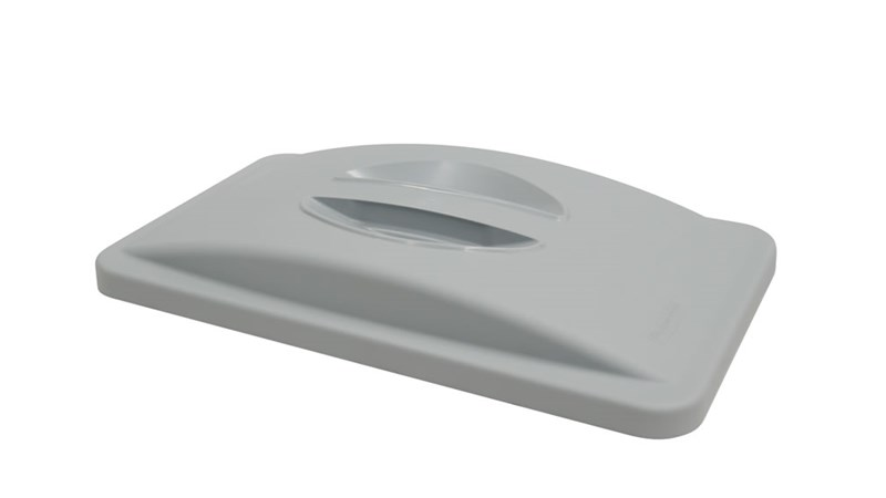 A variety of Slim Jim  Lids are available to help facilitate waste and recycling sortation