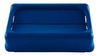 Het Rubbermaid Commercial Slim Jim®-tuimeldeksel bevordert recycling en verbetert de productiviteit. Het tuimeldeksel biedt een gemakkelijke toegang voor afval en verbergt het afval meteen. De deksels moedigen afvalscheiding en recycling door de verwisselbare, kleurgecodeerde bovenstukken. De robuuste kunststof voor intensief gebruik is roestbestendig en eenvoudig te reinigen.