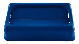 Der Slim Jim®-Schwingdeckel von Rubbermaid Commercial sorgt für einfacheres Recycling und mehr Produktivität. Der Schwingdeckel erleichtert die Abfallentsorgung. Er schwingt automatisch zurück, um den Blick auf Abfall zu verbergen. Die Deckel erleichtern die Mülltrennung und das Recycling dank austauschbarer, farbcodierter Aufsätze. Der strapazierfähige, robuste Kunststoff ist rostfrei und leicht zu reinigen.