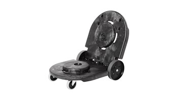 BRUTE® Tandem-Transportroller, schwarz