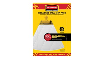 Biohazard pads are made with highly absorbent material designed for quickly removing liquid, biohazard spills. Pads turn liquid into gel so that once liquid is fully absorbed, it will not drip.
