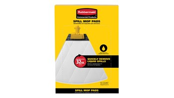 General Spill Mop Pads, Grey