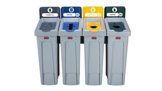 Voici une solution de recyclage adaptable à la fois fonctionnelle et discrète.