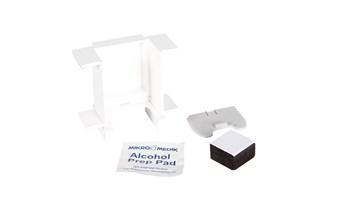 Der Microburst® Nachfüll-Umrüstbord ermöglicht die Benutzung von MB3000 Dosen in Standard 243 ml Spendern.