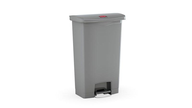 Der Jim® Step-Tretabfallbehälter von Rubbermaid Commercial hat ein schmales Profil und ist optimal für engste Raumverhältnisse. Die Slim Jim®-Tretabfallbehälter sind aus hochwertigen Materialien gefertigt und entsprechen den Bedürfnissen jeder Umgebung in Bezug auf Effizienz, Sicherheit und Haltbarkeit.