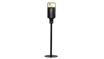 This all-metal stand with a weighted base enables free-standing AutoFoam or AutoFoam LumeCel™ dispenser placement for proper hand hygiene anywhere.