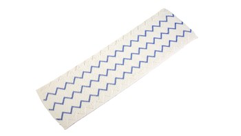 HYGEN™ Disposable Microfibre Mop Pad, 150 Pack, Blue
