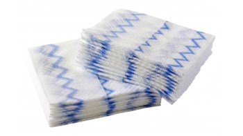 HYGEN™ Disposable Microfibre Cloth, 640 Pack, Blue