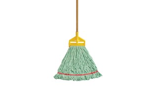 Antimicrobial Looped End Mop is suitable for heavy duty & specialised mopping.