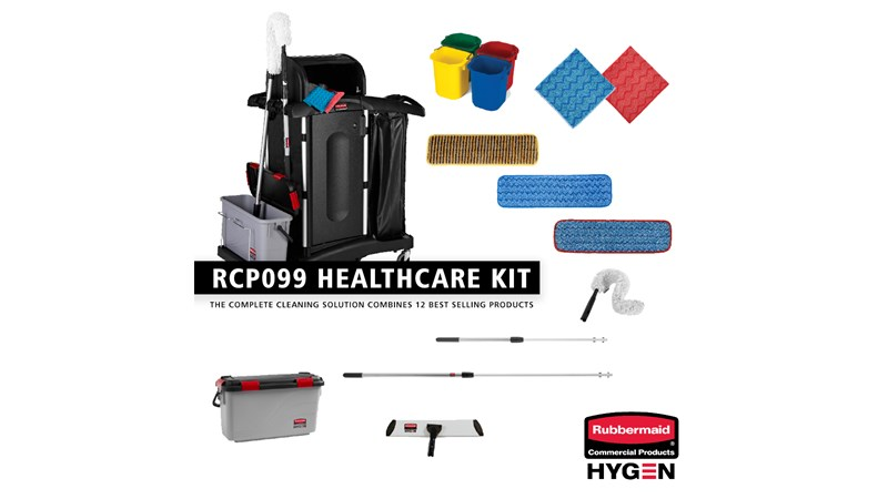 The Complete Cleaning Kit RCP099 is a complete cleaning solution combines 12 best sellers into one kit to achieve a high quality clean.